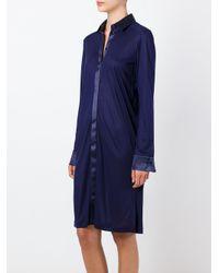 La Perla - Blue 'morgane' Night Dress - Lyst