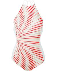 La Perla - Multicolor 'Op-Art' Swimsuit - Lyst