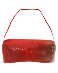 La Perla - Red 'Radiance' Bandeau Bikini Top - Lyst