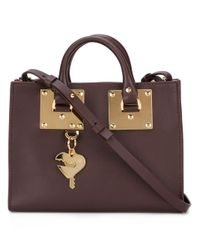 Sophie Hulme   Pink Gold-tone Hardware Small Tote   Lyst
