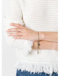 Carolina Bucci | Multicolor 18kt Yellow And Black Gold 'lucky Grace' Bracelet | Lyst