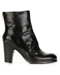 Officine Creative - Black Doinel Patent Buffalo Ankle Boots - Lyst