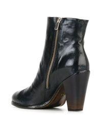 Officine Creative - Black 'pisier' Zip Boots - Lyst