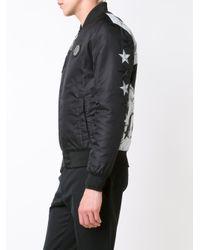 Philipp Plein - Black 'everglades' Bomber Jacket for Men - Lyst