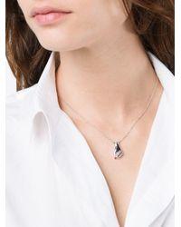 Yvonne Léon - Metallic Yvonne Léon Ruby And Black Diamond Hand Necklace - Lyst