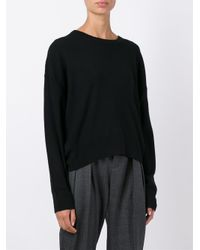 IRO - Black Sevigny Wool Pullover - Lyst