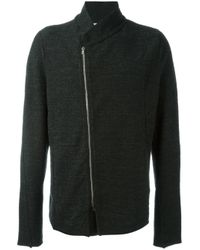 Lost and Found Rooms - Black Melange Jacket for Men - Lyst