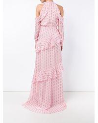 Erdem - Multicolor Cut-off Shoulders Dress - Lyst