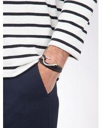 Miansai - Black Hook Wrap Bracelet for Men - Lyst