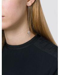 Lara Bohinc - Metallic 'planetaria' Pull Through Earrings - Lyst