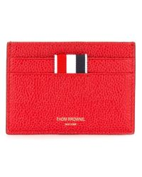 Thom Browne - Red Classic Cardholder for Men - Lyst