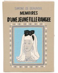 Olympia Le-Tan - Multicolor 'memoires D'une Jeune Fille Rangee' Book Clutch - Lyst