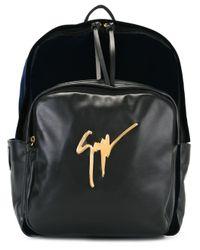 Giuseppe Zanotti - Black 'carey' Backpack for Men - Lyst