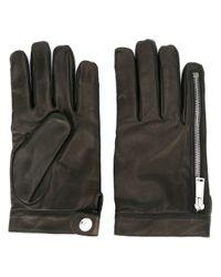 DSquared² - Black - Leather Gloves - Men - Lamb Skin - 8.5 for Men - Lyst