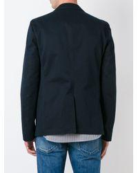 Marni - Blue Notched Lapel Jacket for Men - Lyst