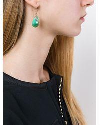 Uzerai Edits - Green Chrysoprase And Topaz Earrings - Lyst