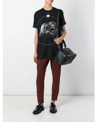 Givenchy - Multicolor - Drawstring Crepe Trousers - Women - Silk/spandex/elastane/acetate/viscose - 40 - Lyst