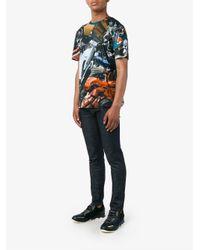 Christopher Kane - Blue Multi Turbo T-shirt for Men - Lyst