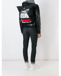 McQ - Black 'fold' Tote Backpack for Men - Lyst