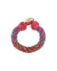Aurelie Bidermann | Pink 'maya' Beaded Bracelet | Lyst