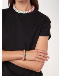 Aurelie Bidermann - White 'maya' Beaded Bracelet - Lyst