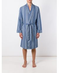 Paul Smith - Blue Striped Loungewear for Men - Lyst