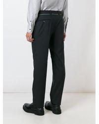Alexander McQueen - Gray Straight Leg Trousers for Men - Lyst