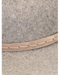 Rag & Bone - Gray Fedora Hat - Lyst