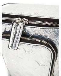 M Missoni - Metallic Zip Bucket Shoulder Bag - Lyst