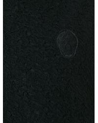 Alexander McQueen - Black Cross Stitch Skull Sweatshirt for Men - Lyst