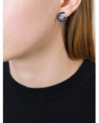 Uribe | Metallic Siskin Earrings | Lyst