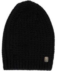 Werkstatt:münchen - Black Werkstatt:münchen Knitted Cap for Men - Lyst