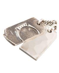 Werkstatt:münchen - Metallic Werkstatt:münchen Double Pendant Long Necklace - Lyst