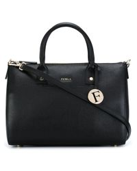 Furla | Black - Small Tote Bag - Women - Leather - One Size | Lyst