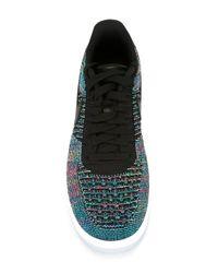 Nike Black 'air Force 1 Ultra Flyknit' Sneakers for men