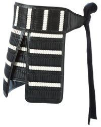 Ports 1961 - Black 'samurai' Belt for Men - Lyst