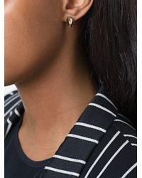 Givenchy - Metallic Shark Tooth Earrings - Lyst