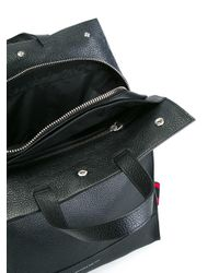Alexander McQueen - Black Rectangular Backpack for Men - Lyst