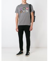 PS by Paul Smith | Gray Multi Print T-shirt for Men | Lyst