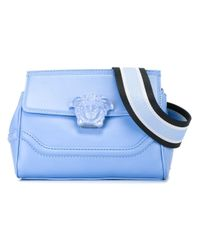 Versace - Blue 'Palazzo Empire' Shoulder Bag - Lyst