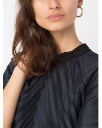 Serpui - Metallic Hoop Earrings - Lyst
