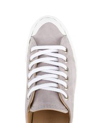 Chloé - Gray 'kyle' Low-top Sneakers - Lyst