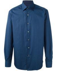 Lanvin | Blue Classic Shirt for Men | Lyst