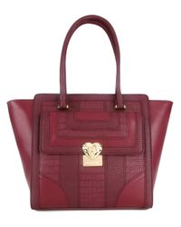 Love Moschino   Red Gold-tone Hardware Shoulder Bag   Lyst