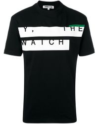 McQ - Black Y, The Watch Print T-shirt for Men - Lyst