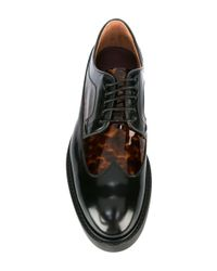 Paul Smith | Black Platform Derbies | Lyst