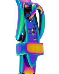 Vivienne Westwood - Blue 'raphael' Bracelet - Lyst