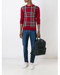 Comme des Garçons - Red Comme Des Garçons Shirt Boy Plaid Jumper for Men - Lyst