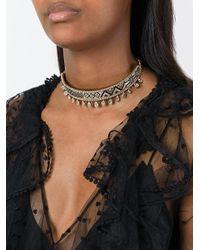 Shourouk | Metallic Necklaces | Lyst