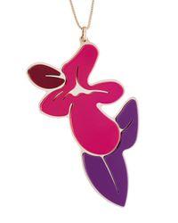 P.A.R.O.S.H. - Pink 'portnek' Necklace - Lyst